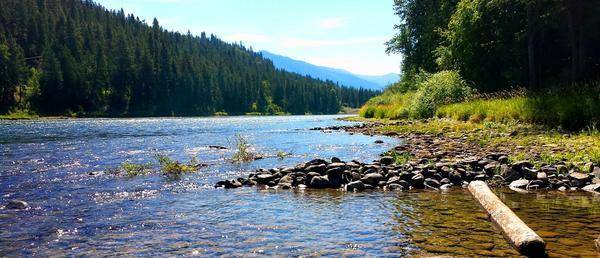 Montana Motorhome Space On Kootenai River Rv Lots For