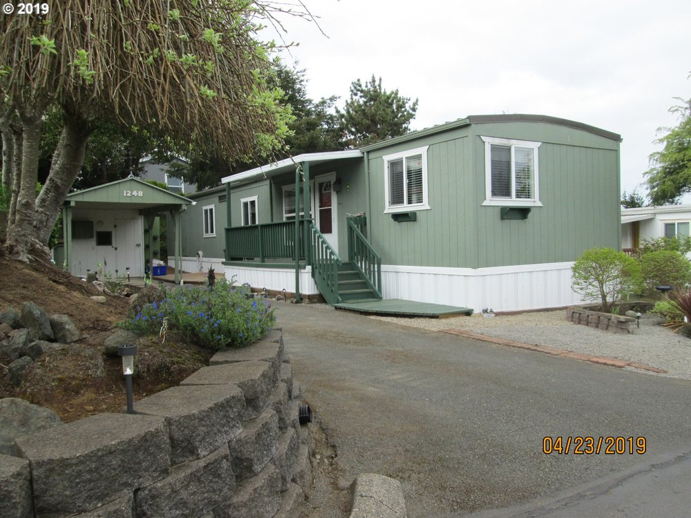 Manufactured Home Single Wide Manufactured Coos Bay Or