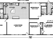 New Mobile Home Model for Sale: Lynhurst by Champion Home Builders