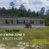 Mobile Home for Sale: Rare Find 4+2 WIND ZONE II VALUE, Aiken, SC