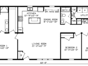 New Mobile Home Model for Sale: Morris by Cavco Homes