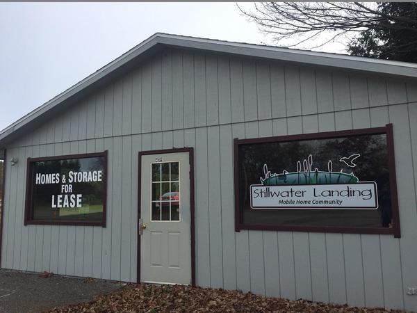 Photo of Self Storage Entrance & Storage Units for Rent in Weston WI: Stillwater Landing MH Park ...