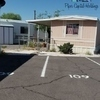 Mobile Home for Sale: Singlewide, with T-111 sliding and fenced porch, Chandler, AZ