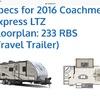 RV for Sale: 2016 FREEDOM EXPRESS 233RBS