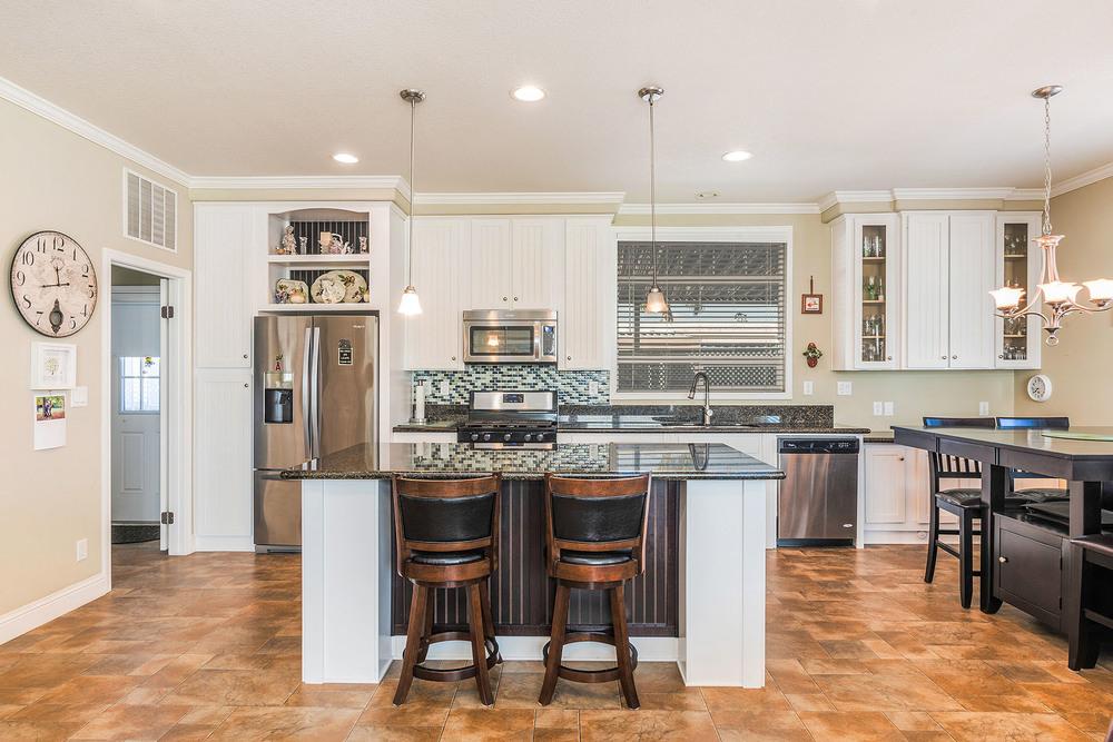 Stunning Kitchen with 7 Foot Island