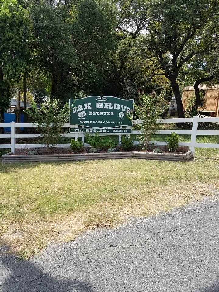 Mobile Home Park In Kerrville Tx Oak Grove Estates 788979