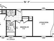 New Mobile Home Model for Sale: Santa Anita by Cavco Homes