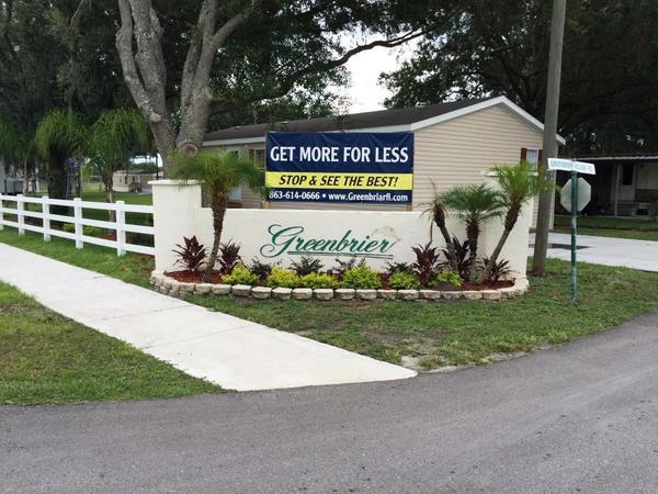 Greenbrier Village Directory Mobile Home Parks In