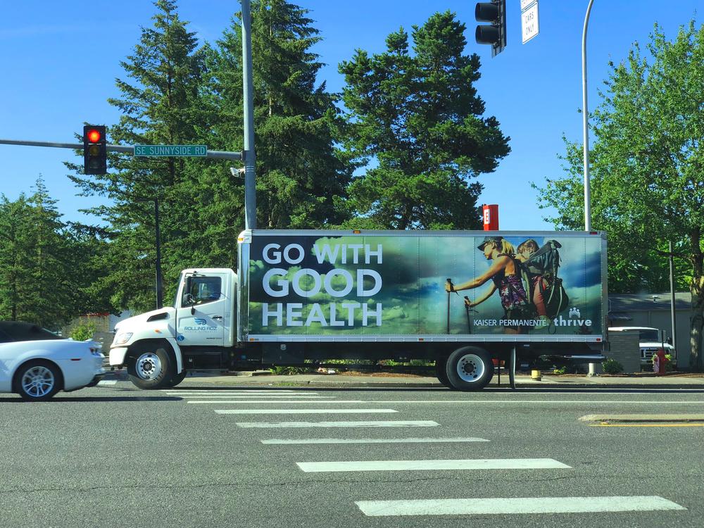 RollingAdz.com Truck Side Advertising Napa,CA