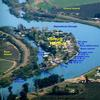 RV Lot for Rent: Waterfront RV site on Steamboat Slough, Rio Vista Area-Ryer Island, CA