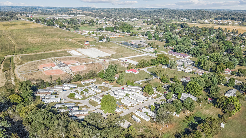 Aerial Photo of Mobile Home Park