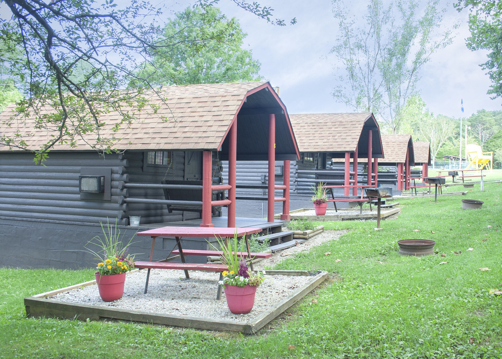 Rustic Cabins and 3 Deluxe Cabins