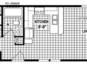 New Mobile Home Model for Sale: Caroline by Skyline Homes