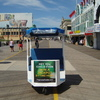 Billboard for Rent: Atlantic City/NJ Shore  Boardwalk PediCabs , Atlantic City, NJ