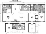 New Mobile Home Model for Sale: Woodway by Skyline Homes