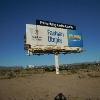 Billboard for Sale: 23 Acres with income from sign land leases, Baker, CA