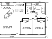 New Mobile Home Model for Sale: Garland by Cavco Homes