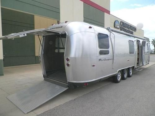 Marvelous 2009 Airstream Pan America Toy Hauler Trailer Rv For Sale Creativecarmelina Interior Chair Design Creativecarmelinacom