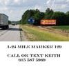 Billboard for Rent: I-24 west bound  Mile Marker 129, Pelham, TN