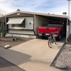 Mobile Home for Sale: Furnished 14 x 60 Home in 55+ Park ! Lot 32, Mesa, AZ