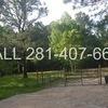 Mobile Home Lot for Rent: FOR RENT: 11,000 SqFt Lot full hookups Mobile Home/RV, Plantersville, TX