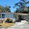 Mobile Home for Sale: Furnished 2 Bed/2 Bath With Sunroom On Front Of Home, Brooksville, FL