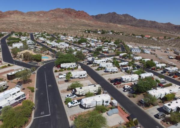 Red Mtn Rv Resort Boulder City Lot For Rent Rv Lot For