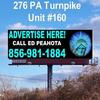 Billboard for Rent: BUCKS COUNTY BILLBOARDS FOR RENT PA TURNPIKE, Bucks County, PA