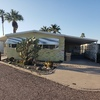 Mobile Home for Sale: Updated Double Wide Manufactured home in Whispering Palms a 55+ Community! Convenient location off 101 and Cave Creek Rd. lot 45, Phoenix, AZ