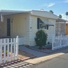 Mobile Home for Sale: Nice single wide manufactured with lot of updates! 55+ community lot 52, Apache Junction, AZ