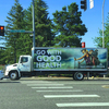 Billboard for Rent: Rolling Adz Mobile Billboards in TACOMA, Tacoma, WA