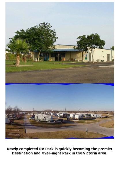 RV sites and office/rec hall