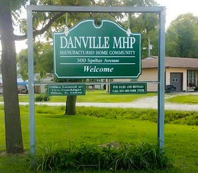 Affordable Mobile Home Community in Danville, IL