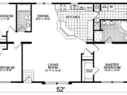 New Mobile Home Model for Sale: Reno by Champion Home Builders