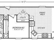 New Mobile Home Model for Sale: Billings by Fleetwood Homes