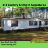 Mobile Home for Sale: REDUCED 3+2 Country Living in Augusta Ga!, Augusta, GA