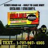 Billboard for Rent: l-14-44c, Crystal River, FL