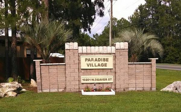 Mobile Home Park in Jacksonville, FL: Paradise Village - Directory on waterfront mobile homes fl, holiday mobile home park palm bay fl, mobile home parks in massachusetts, mobile home parks largo florida, mobile homes for rent,