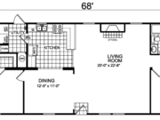 New Mobile Home Model for Sale: Stokhem by Champion Home Builders