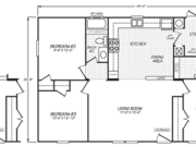 New Mobile Home Model for Sale: Arrington by Cavco Homes