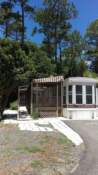 Lot 390 Salt Springs Resort Rv Lots For Rent In Salt