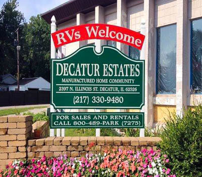 Affordable Mobile Home Community in Decatur, IL