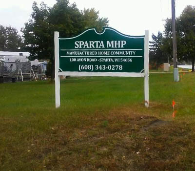 Affordable Mobile Home Community in Sparta, WI