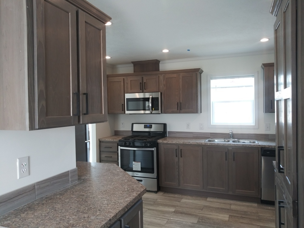 Kitchen with huge pantry