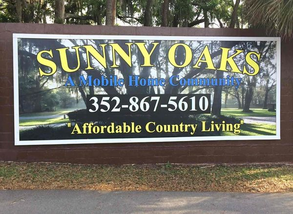 Sunny Oaks Mobile Home Park Mobile Home Parks For Sale In Ocala Fl