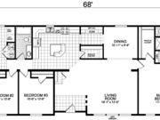 New Mobile Home Model for Sale: Garden Grove by Champion Home Builders