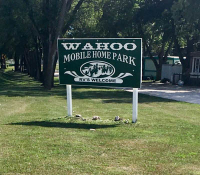 Affordable Mobile Home Community in Wahoo, NE