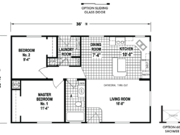 New Mobile Home Model for Sale: Rivergrove by Skyline Homes