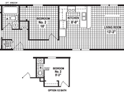 New Mobile Home Model for Sale: Goldville by Skyline Homes