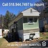 Mobile Home for Sale: Used 2-Bdrm Mobile Home for Sale , Castleton-On-Hudson, NY